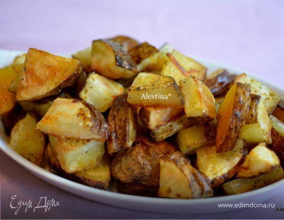 Пряный картофель в духовке