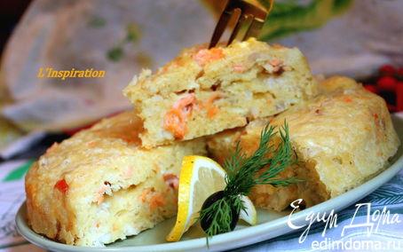 Рецепт Очень нежный рыбный пирог