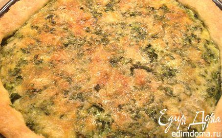 Рецепт Киш со шпинатом