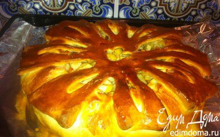 Рецепт Пирог с ябоками и корицей