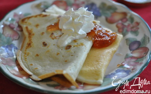 Рецепт Блинный завтрак