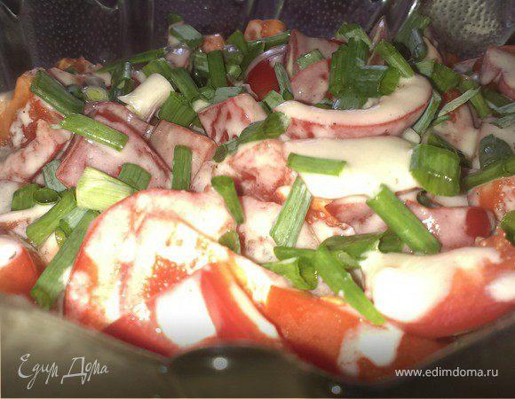 Летний салат-крем (Summer salad cream)