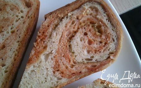 Рецепт Хлеб из двух видов теста в хлебопечке