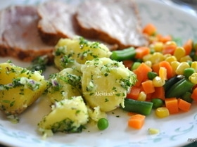 Картофель сальса