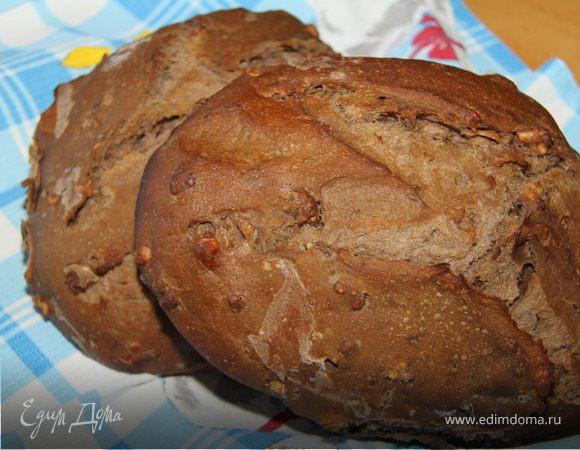 Мультизлаковый хлеб с бататом и грецким орехом
