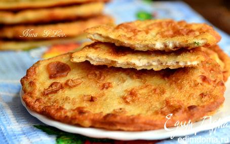 Рецепт Очень вкусные тоненькие пирожки с мясом и картошечкой