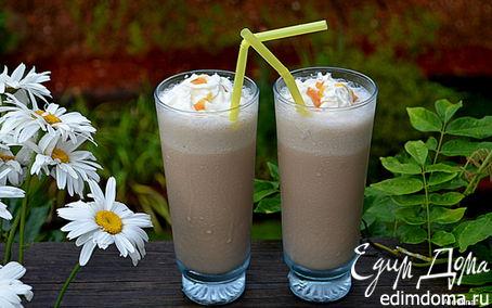 Рецепт Кофейный молочный коктейль