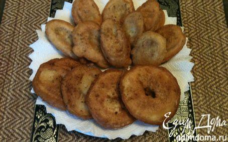 Рецепт Субботний десерт на завтрак - фрукты в кляре