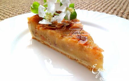 Рецепт Яблочный пирог (тесто и начинка без яиц)