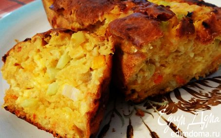 """Рецепт Мегаовощной ароматный хлеб с сыром (""""Новый урожай"""")"""