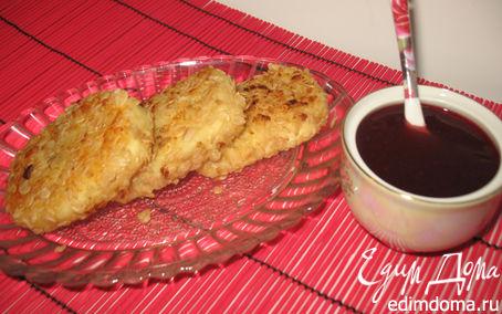 Рецепт сырники с шоколадом в овсяной панировке