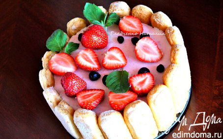 Рецепт Йогуртовый торт с летними ягодами