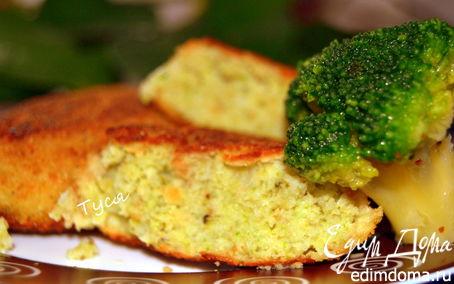 Рецепт Рыбные котлеты с брокколи