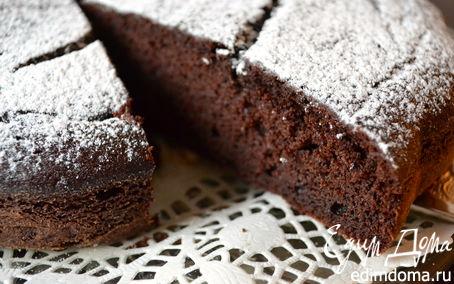 Рецепт Шоколадный пирог на рикотте (для Elen@Lat) (Torta Cioccolato e Ricotta)