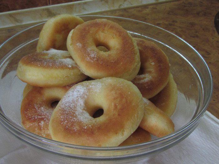 Пончики простой рецепт с фото без дрожжей