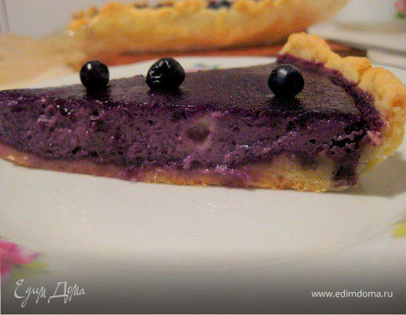 Черничный тарт