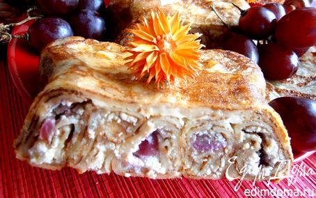 Рецепт Блинный пирог с творогом для Татьяны