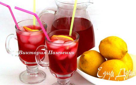 """Рецепт Клюквено-лимонный напиток (""""Прохладительные напитки"""")"""