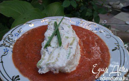 Рецепт Слоеная закуска из цукини с томатным соусом