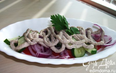 Рецепт Салат грузинский овощной