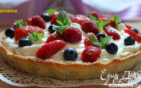 Рецепт Летние ягодные корзинки