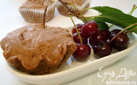Рецепт Воздушные кексы с вишней
