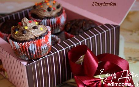 Рецепт Шоколадные кексы с сюрпризом
