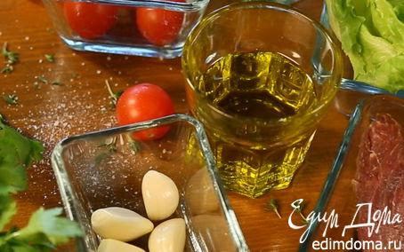 Рецепт Медальоны из говядины с томатами черри
