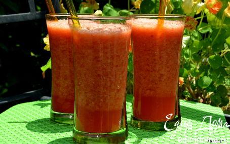 Рецепт Апельсиново-малиновый лимонад