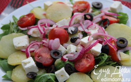Рецепт Средиземноморский картофельный салат