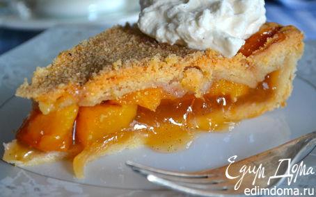 Рецепт Персиковый пай с ванилью (Vanilla Bean Peach Pie)