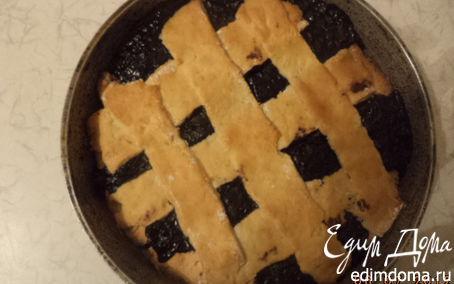Рецепт Пирог с черничной начинкой