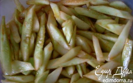 Рецепт Салат из переросших огурцов по-корейски