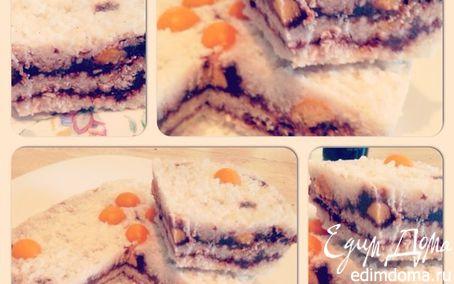 Рецепт Кокосовый торт-мороженое