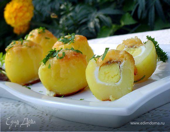"""Запеченный картофель """"Сюрприз"""""""