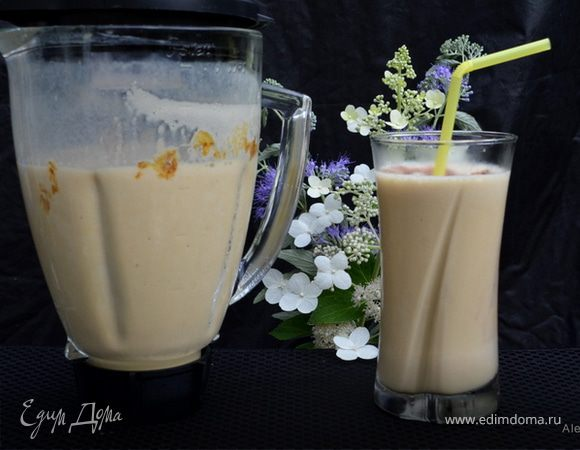 Морозно-ванильный кремовый кофе