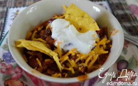 Рецепт Чили с говядиной и индюшатиной
