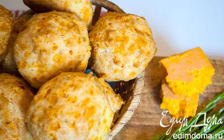 Рецепт Заварные с розмарином и сыром Чеддер