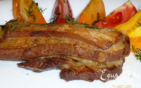Рецепт Нежные свиные ребрышки в соевом соусе