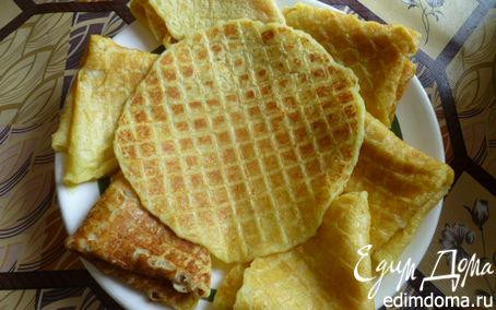 Рецепт Картофельные вафли в вафельнице
