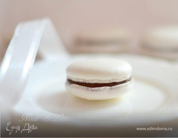 """Макароны"" с шоколадным кремом (Makarons with chocolate cream)"