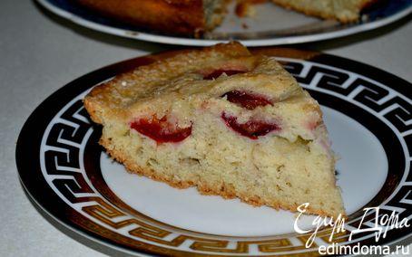 Рецепт Пирог со сливами и корицей