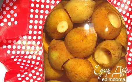 Рецепт Грушевый компот с корицей