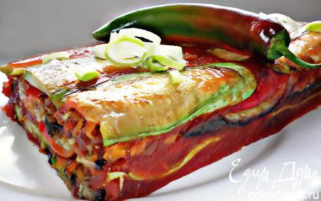 Рецепт Овощной террин в томатном желе
