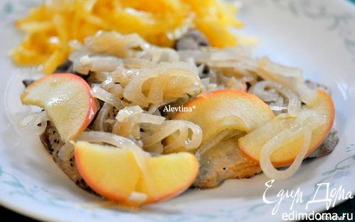 Рецепт Cвиные отбивные в яблочном рассоле