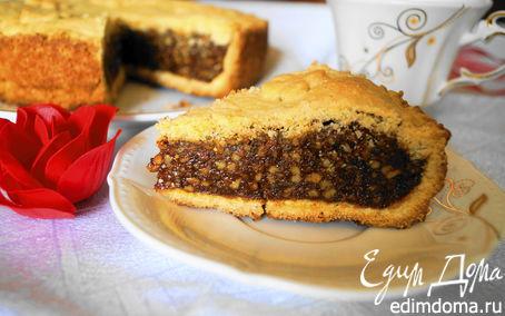 Рецепт Швейцарский ореховый торт