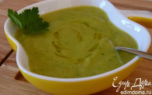 Рецепт Пикантный крем-суп из кабачка