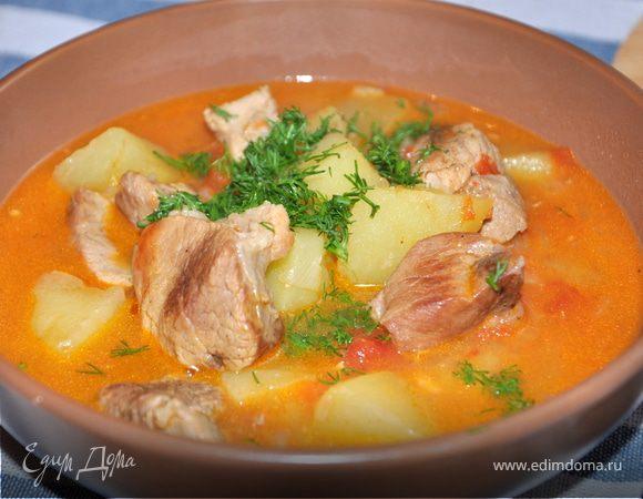 Суп-рагу из мультиварки