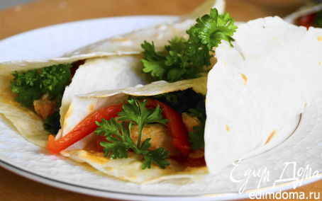Рецепт Буррито по-японски (Очень вкусно и остро)