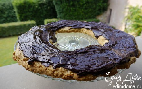 Рецепт Песочное кольцо с шоколадом